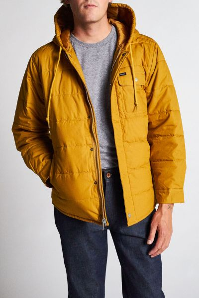 BRIXTON - CASS HOOD JACKET Steppjacke maize