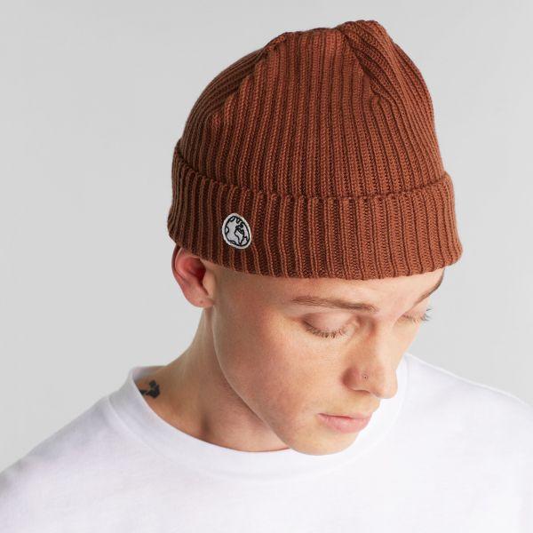 DEDICATED- LOFOTEN BEANIE Mütze friar brown