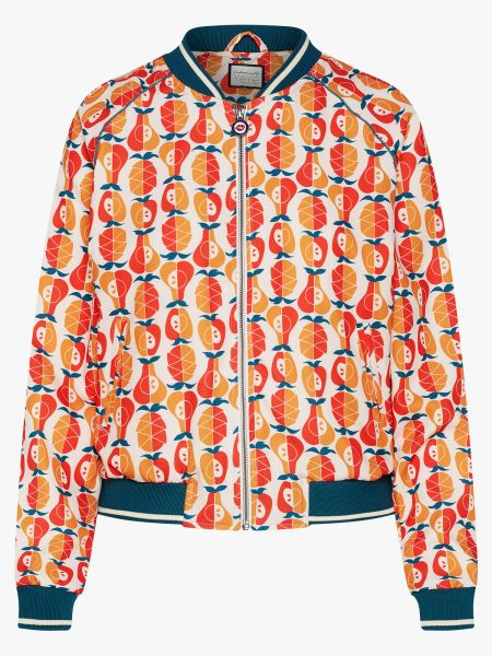 MADEMOISELLE YEYE - STAYING COOL BOMBER Jacke Fruit Salad Rot/Orange