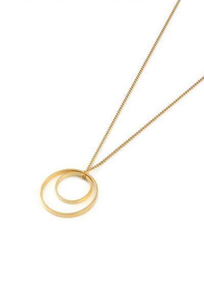 POTIPOTI - GEOMETRIC 07 CIRLCLE Halskette gold