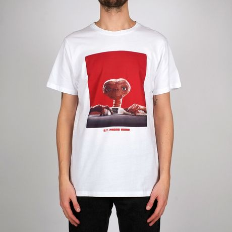 DEDICATED - PHONE HOME Stockholm T- Shirt white