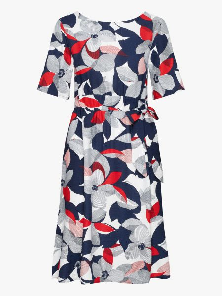 MADEMOISELLE YEYE - NOT ONLY FOR THIS OCCASION Dress garden blue/white/red