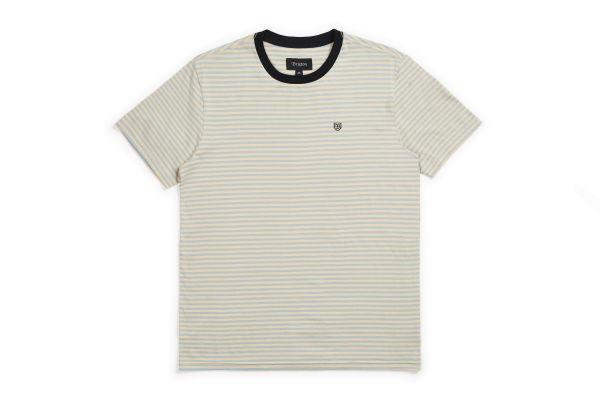 BRIXTON - PABLO S/S Knit Shirt parchment
