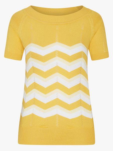 MADEMOISELLE YEYE - ZICK ZACK Knittop Shirt yellow