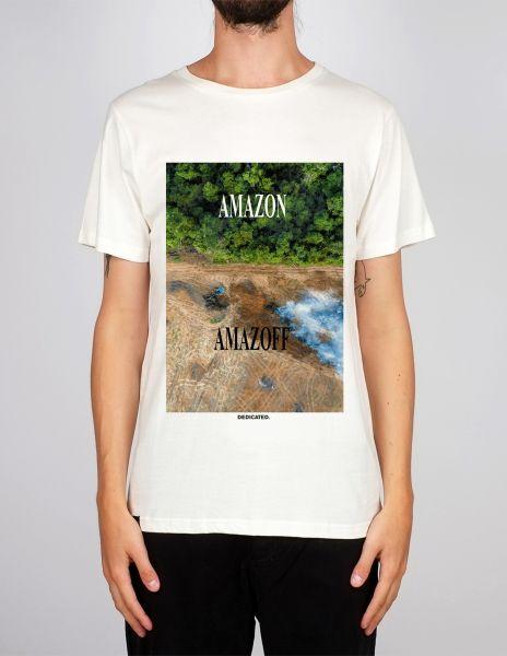 DEDICATED - AMAZOFF Stockholm T- Shirt off-white