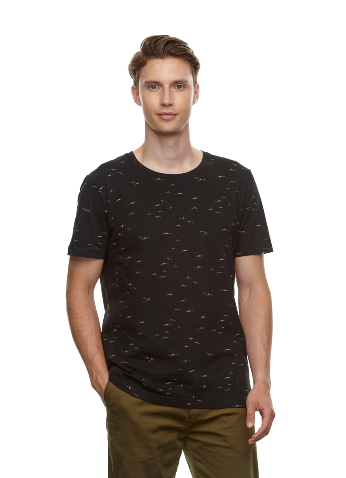 RAGWEAR-TAYLOR-T-Shirt-black