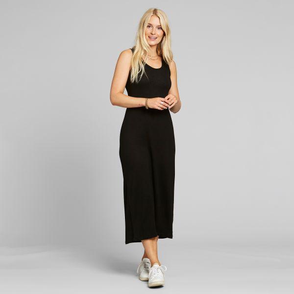 DEDICATED - KRISTINEHAMN DRESS Kleid black
