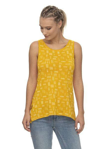 RAGWEAR - CILKA ORGANIC Shirt yellow