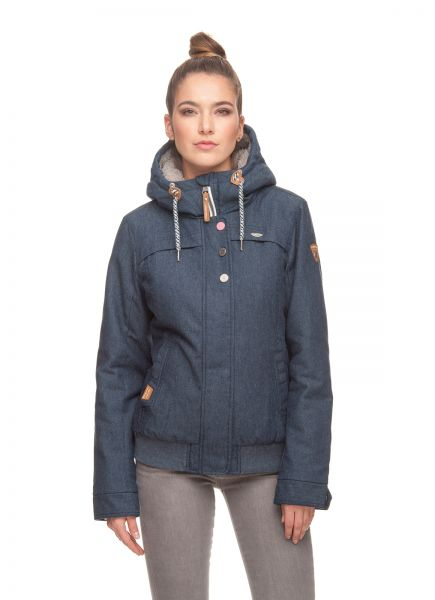 RAGWEAR - JAWA TWILL Winterjacke denim blue