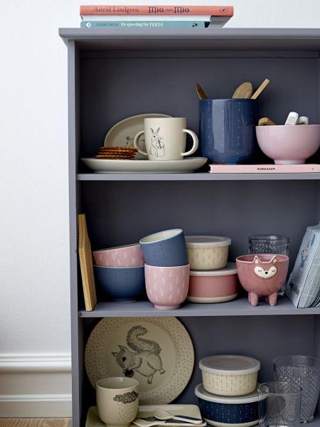 BLOOMINGVILLE - JAR, Blue, Ceramic