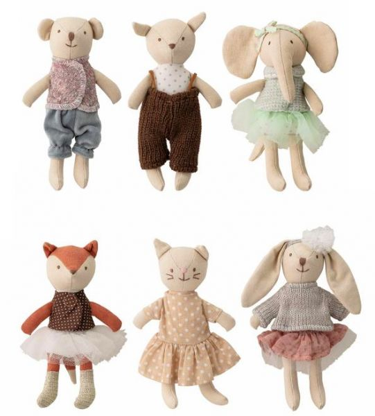 BLOOMINGVILLE - ANIMAL FRIEDS Softtoy multicolor
