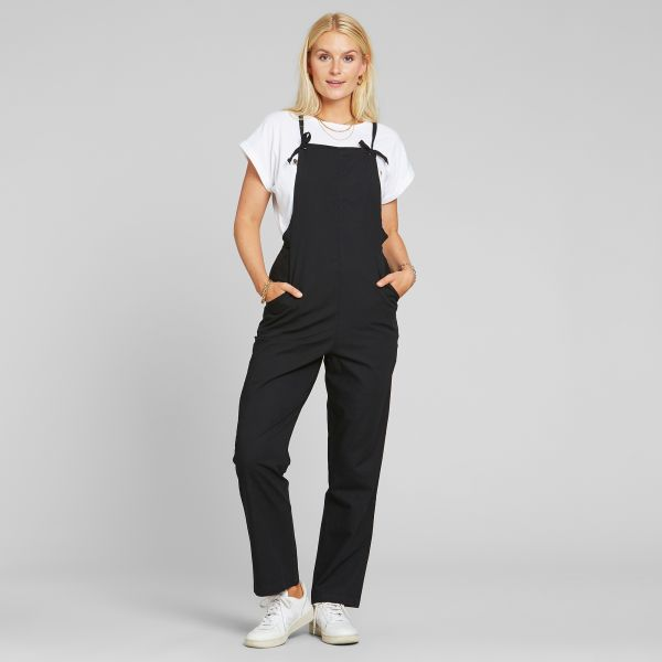 DEDICATED - EMMABODA JUMPSUIT Dungaree/Latzhose black