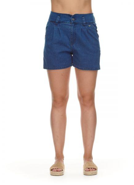 RAGWEAR - SUZZIE High waist Short indigo