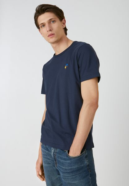 ARMEDANGELS - PAAUL PING PONG T-Shirt navy