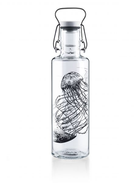 SOUL BOTTLES - JELLYFISH IN THE BOTTLE Trinkflasche 0,6l