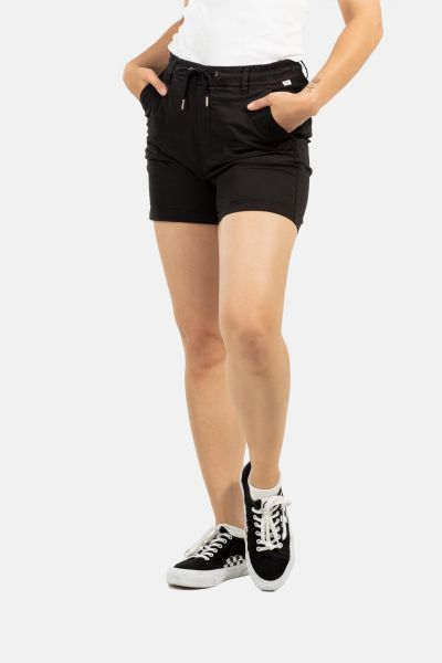 REELL - REFLEX WOMEN LW EASY SHORT Kurze Hose black