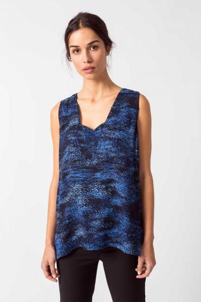 SKFK - NAREA Shirt B6 spray print blue