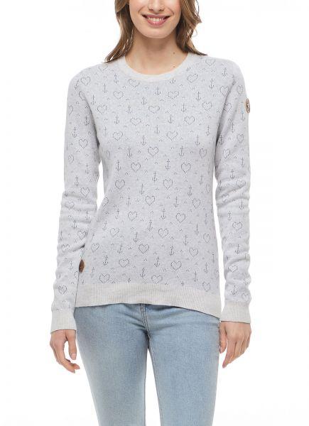 RAGWEAR - GWINN Sweatshirt white