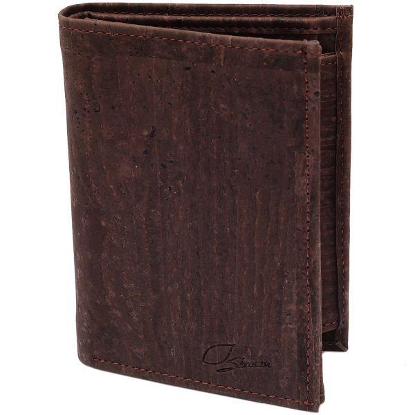 SIMARU - KAZUHIKO RFID BLOCK Kork Portemonnaie brown