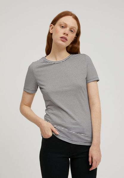 ARMEDANGELS - LIDIAA SMALL STRIPES Shirt black oatmilk