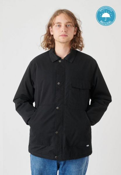 CLEPTOMANCX - COACHES COAT Winterjacke black