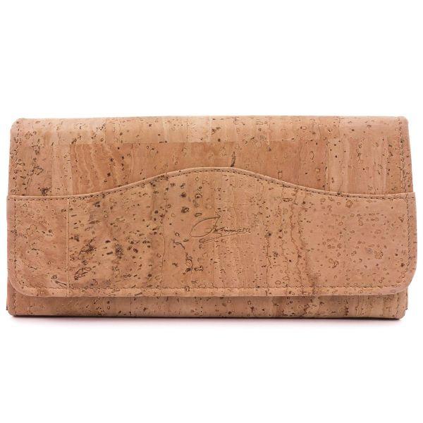 SIMARU - MAJA NATUR RFID BLOCK Kork Portemonnaie