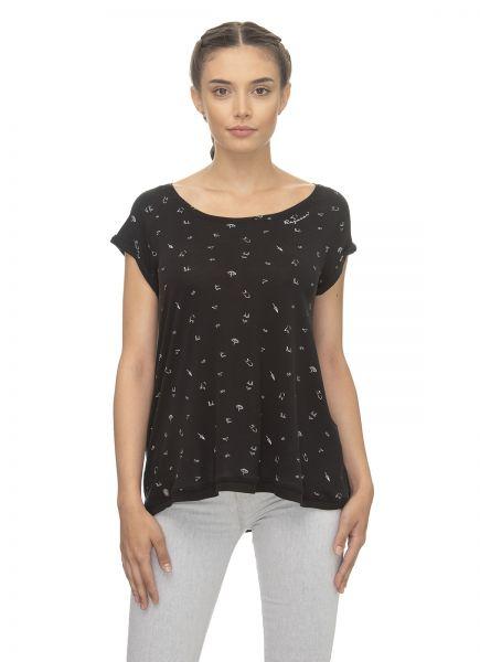 RAGWEAR - ZILDA ORGANIC Shirt black
