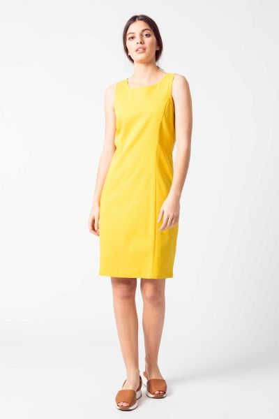 SKFK - LARY DRESS Kleid Y6 yellow curry