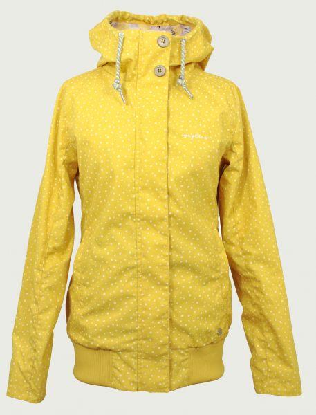 MAZINE - CHELSEY JACKET Jacke yellow/ drops