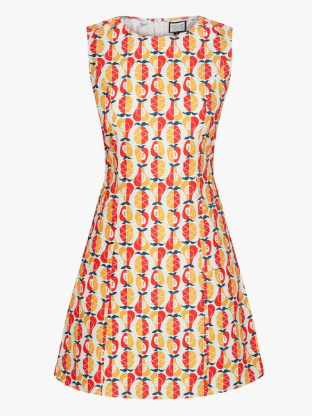 MADEMOISELLE YEYE - NON STOP DANCING Kleid/ Dress Heartbeat yellow