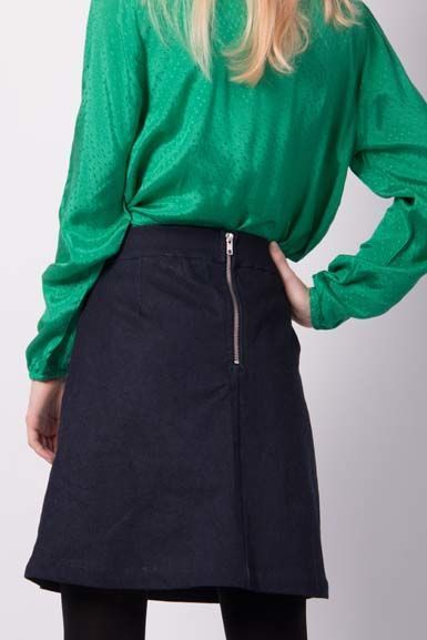DANEFAE - London Skirt denim