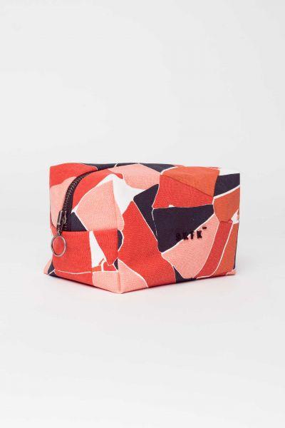 SKFK - BIBI WALLET Make up Tasche orange