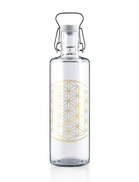 SOULBOTTLES - FLOWER OF LIFE Trinkflasche 1,0l-Copy