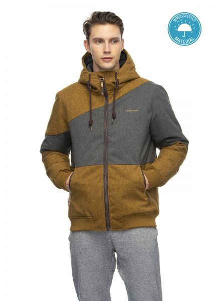 RAGWEAR - BRIGER Winterjacke curry